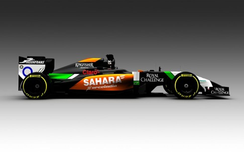 Force India Presento su Nuevo VJ07 Para 2014  1390385925_892841_1390386101_noticia_grande