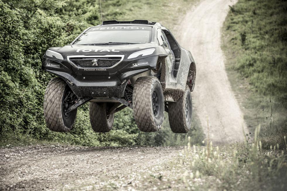 Peugeot 2008 Buggy Dakar 2015