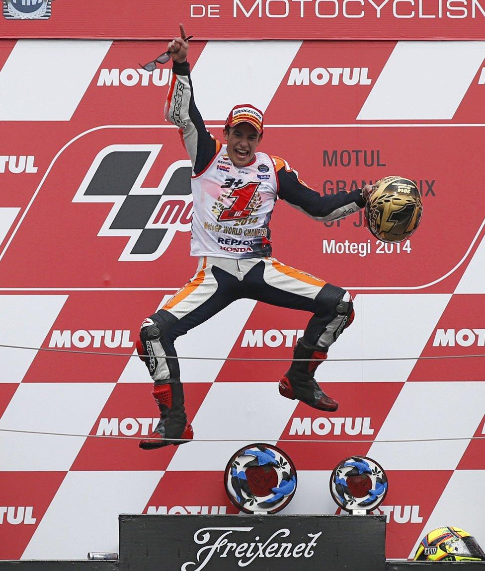 Марк Маркес, Хорхе Лоренсо, Гран-при Японии MotoGP, Валентино Росси