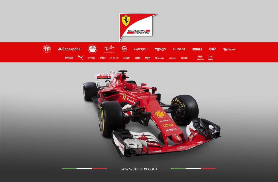 Las imágenes del nuevo Ferrari SF70H